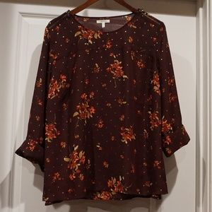Maurices Plus 2 Fall/Winter Top